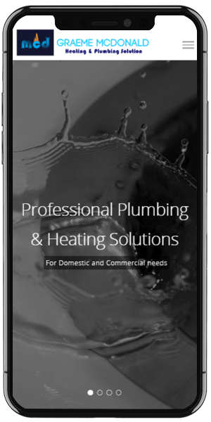 plumber web design Mobile