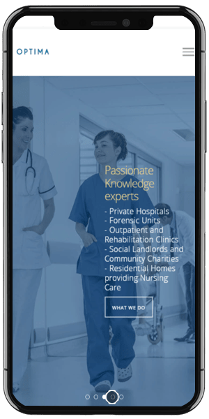 Healthcare Recruitment Web Design Mobile