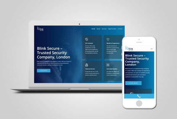 security company web design