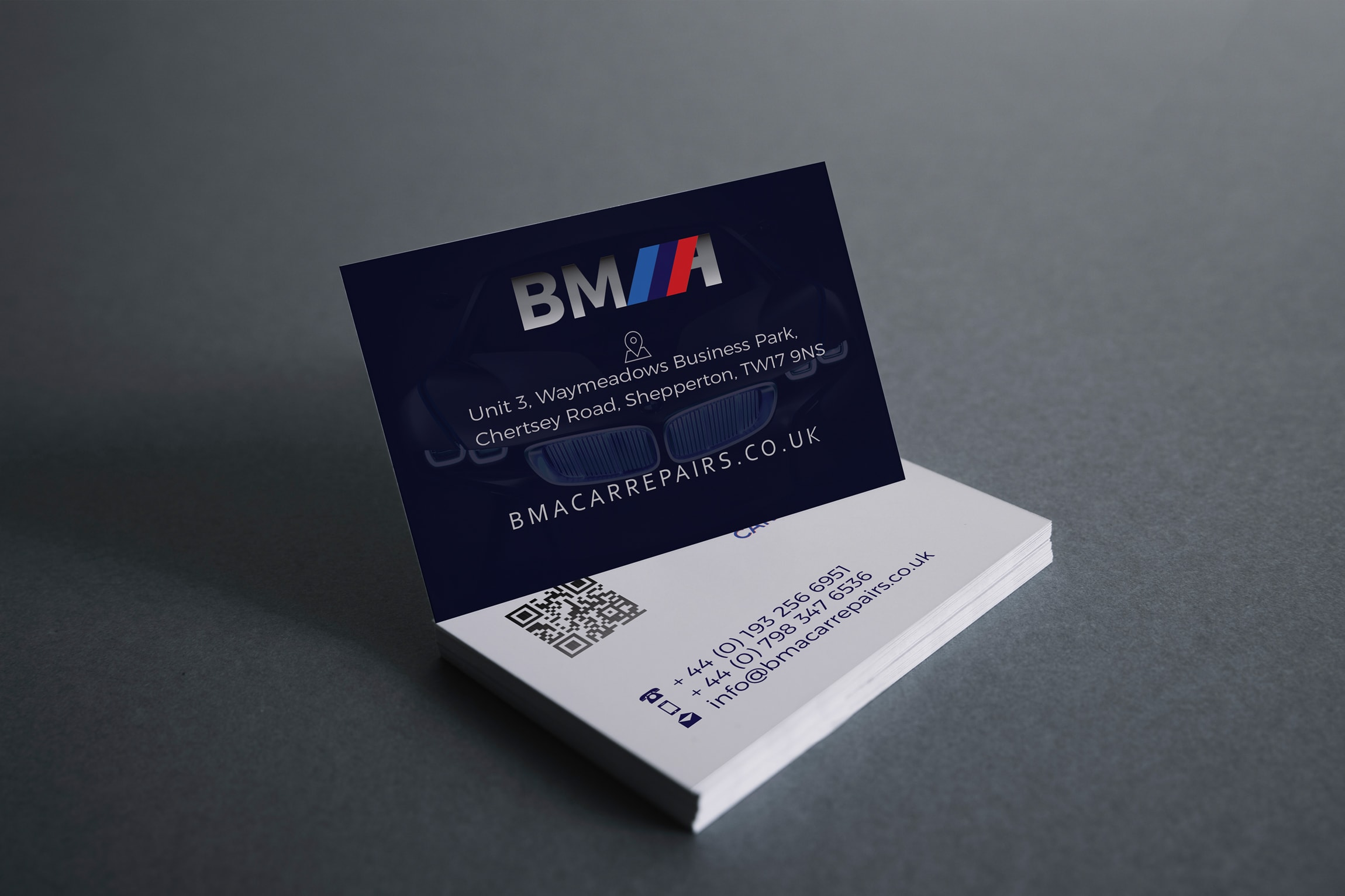 Garage Business Card