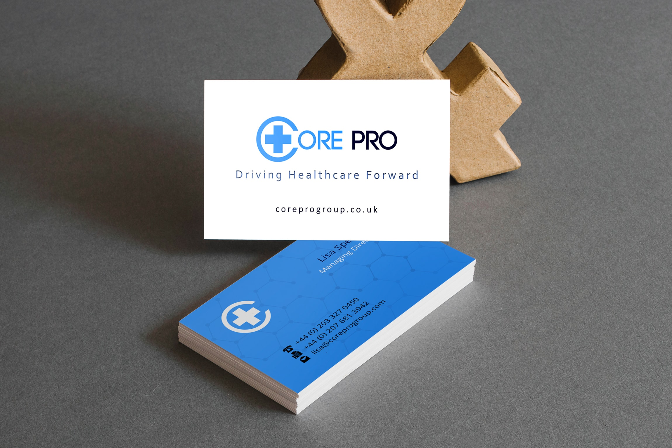 Healthcare Recruitment Business Card